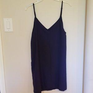 Cotton On Dresses - Cotton On Margot Slip Woven Dress Navy Small